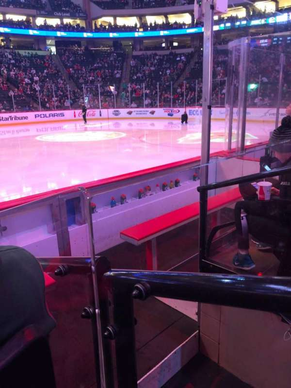 Xcel Energy Center, section: 116, row: 4, seat: 10