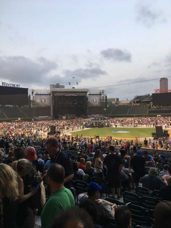 Wrigley Field, section: 214, row: 1, seat: 14