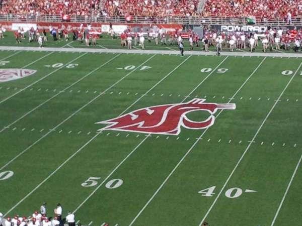 Martin Stadium, section: 109, row: E, seat: 8