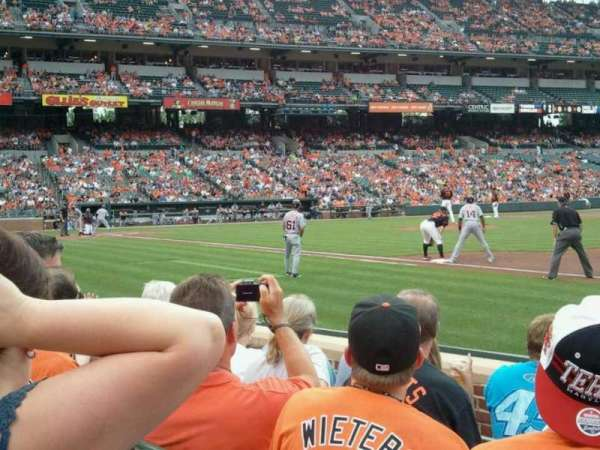 Oriole Park at Camden Yards, section: 16, row: 5, seat: 2