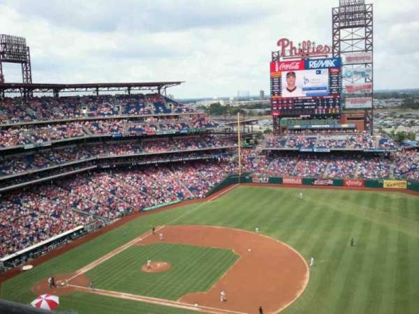 Citizens Bank Park, section: 412V, row: 9, seat: B