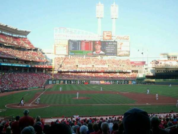 Great American Ball Park, section: 128, row: II, seat: 14