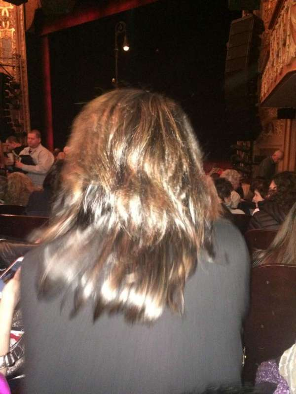 Longacre Theatre, section: Orchestra R, row: O, seat: 17