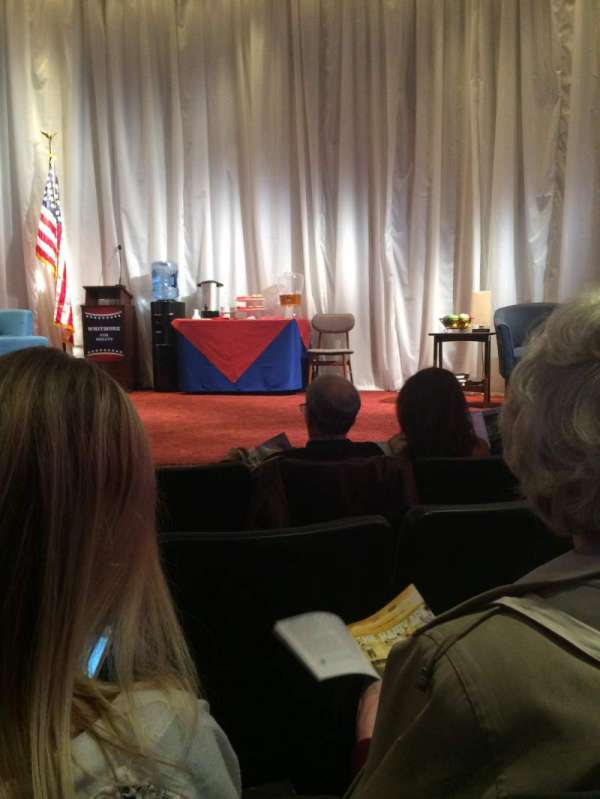 New World Stages - Stage 5, section: Orchestra, row: D, seat: 13