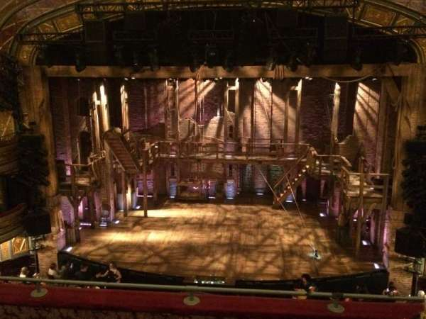 Richard Rodgers Theatre, section: Front Mezzanine C, row: D, seat: 104