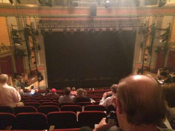 Neil Simon Theatre, section: Mezzanine C, row: M, seat: 107