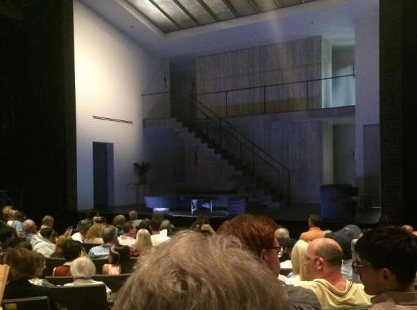 Laura Pels Theatre, section: Orch, row: L, seat: 2