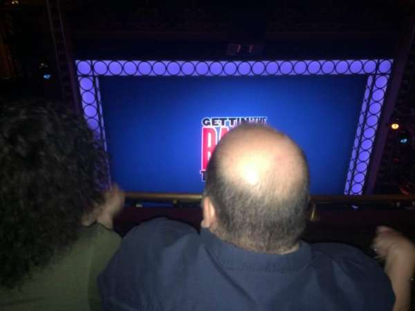 Belasco Theatre, section: Balcony, row: F, seat: 103