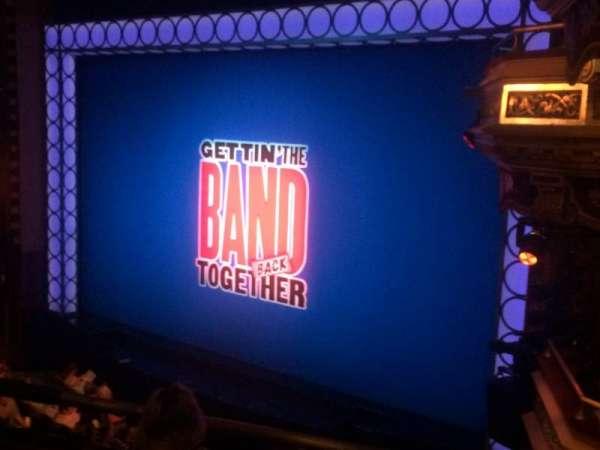 Belasco Theatre, section: Mezz, row: C, seat: 18
