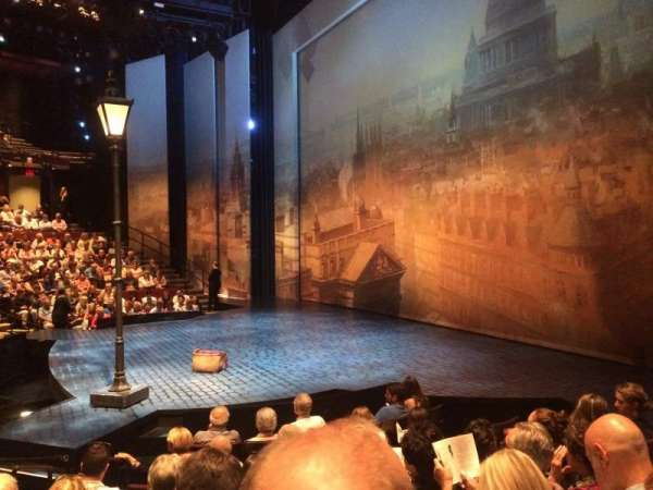 Vivian Beaumont Theater, section: Orchestra R, row: J, seat: 507