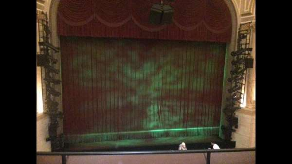 Samuel J. Friedman Theatre, section: Mezzanine C, row: A, seat: 106