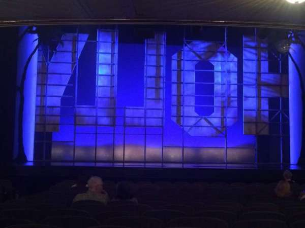 Nederlander Theatre, section: Orchestra C, row: P, seat: 111