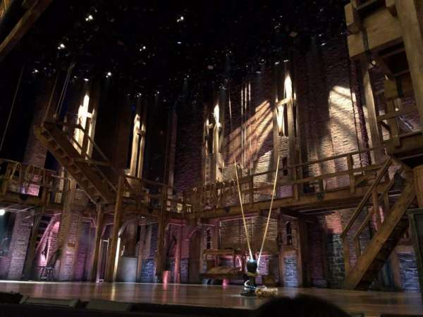 Richard Rodgers Theatre, section: Orchestra R, row: A, seat: 8