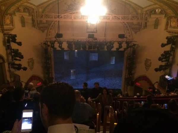 John Golden Theatre, section: Rear Mezzanine LC, row: G, seat: 101