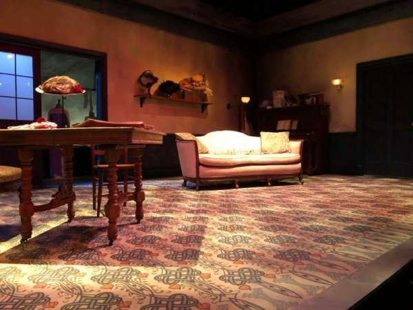 The Beckett Theatre at Theatre Row, section: Orch, row: A, seat: 13