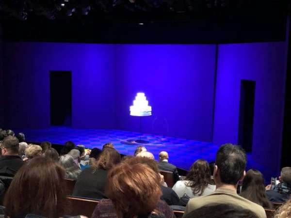 Stage 1 at the New York City Center, row: J, seat: 12