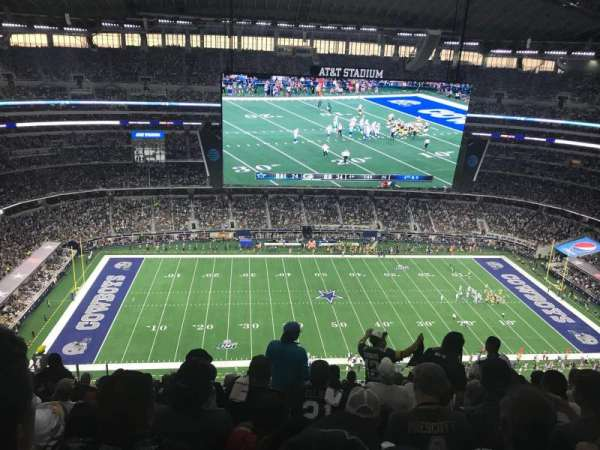 AT&T Stadium, section: 414, row: 25, seat: 13