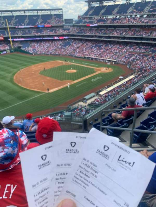 Citizens Bank Park, section: 330, row: 7, seat: 2