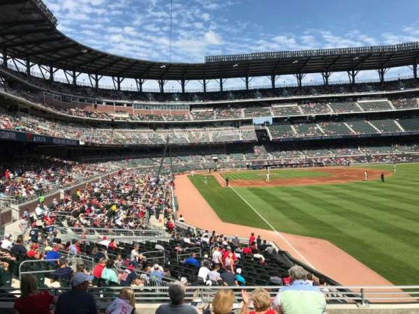SunTrust Park, section: 107, row: 6, seat: 2