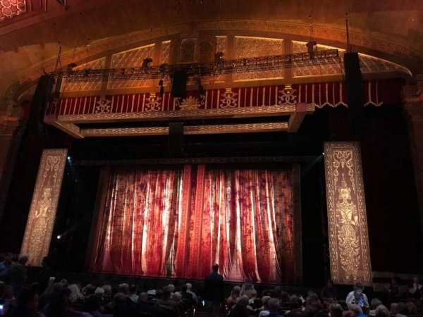 Fox Theatre (Atlanta), section: ORCHRC, row: P, seat: 52