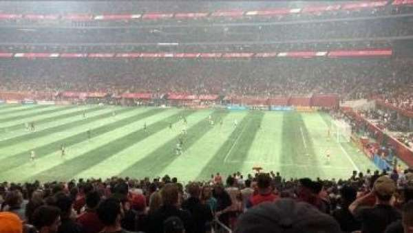 Mercedes-Benz Stadium, section: 107, row: 36, seat: 1