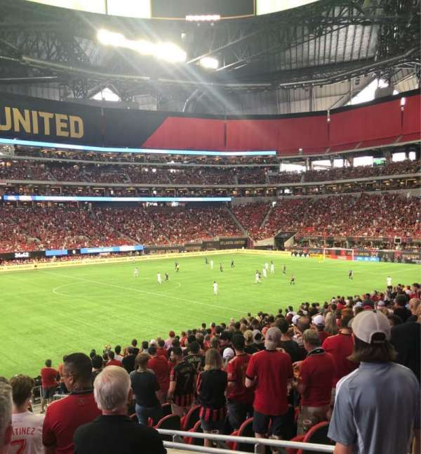 Mercedes-Benz Stadium, section: 131, row: 26, seat: 5