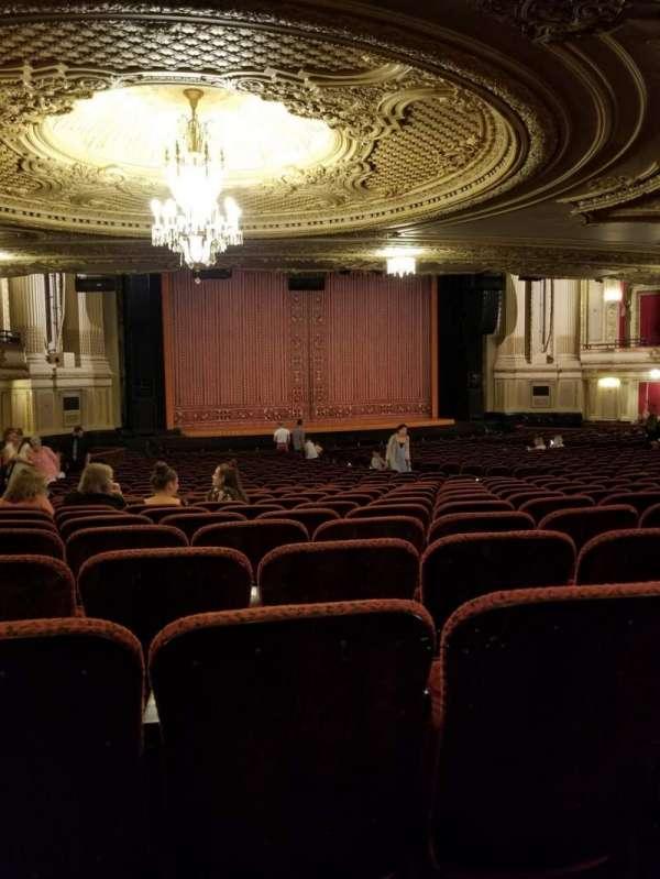 Citizens Bank Opera House, section: Orchestra, row: Y, seat: 27