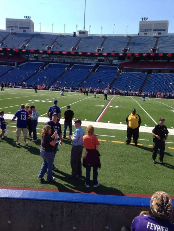 New Era Field, section: 109, row: 4, seat: 6