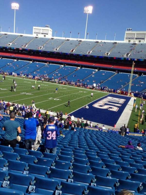 New Era Field, section: 125, row: 31, seat: 6