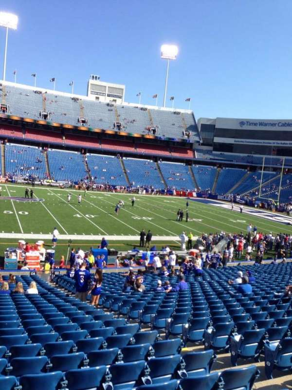 New Era Field, section: 135, row: 31, seat: 12