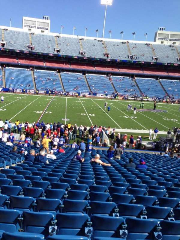 New Era Field, section: 136, row: 31, seat: 18