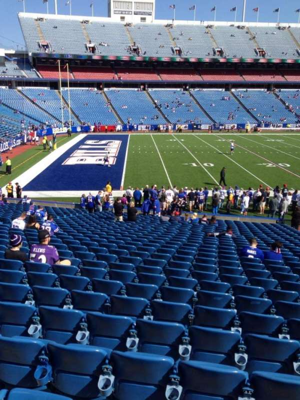 New Era Field, section: 136, row: 31, seat: 13