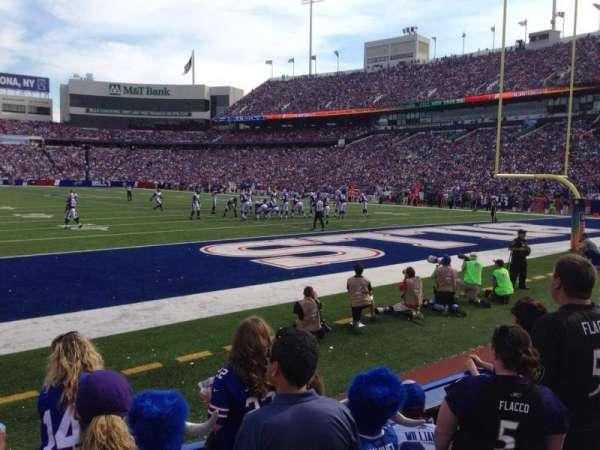 Highmark Stadium, section: 103, row: 3, seat: 7
