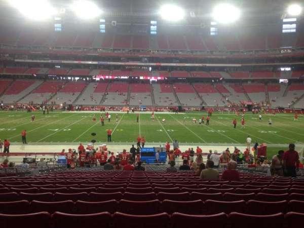 State Farm Stadium, section: 129, row: 24, seat: 11