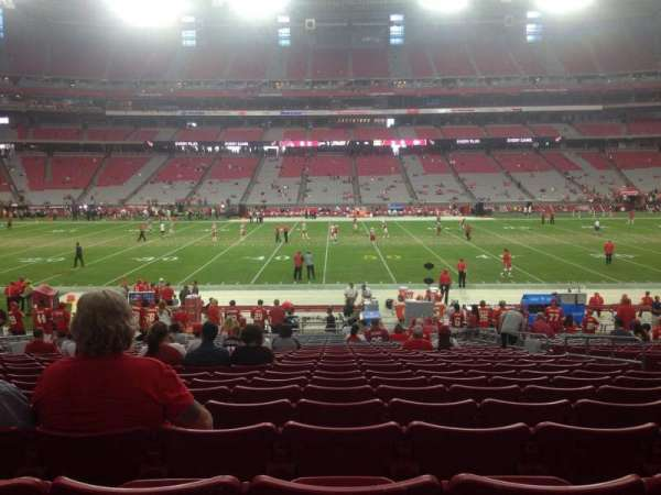 State Farm Stadium, section: 130, row: 24, seat: 7