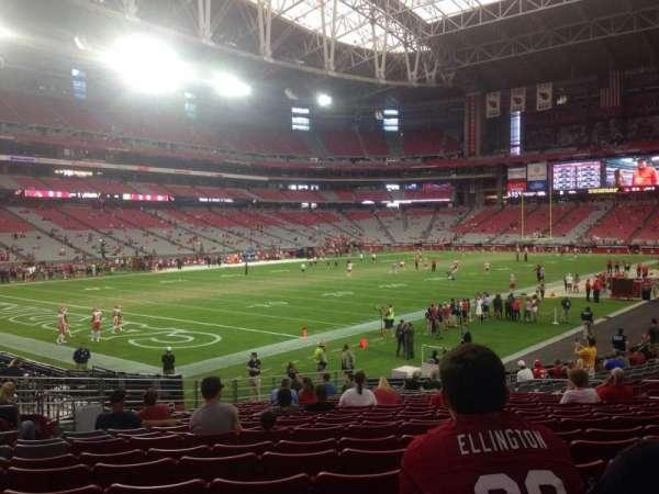 State Farm Stadium, section: 136, row: 21, seat: 15