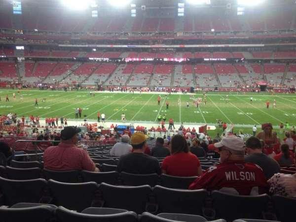 State Farm Stadium, section: 128, row: 37, seat: 13