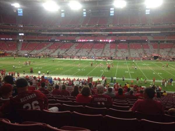 State Farm Stadium, section: 127, row: 37, seat: 11