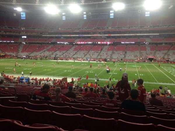 State Farm Stadium, section: 126, row: 37, seat: 13