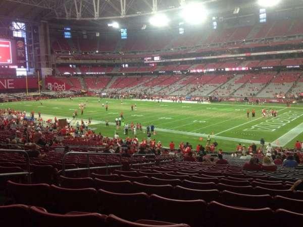 State Farm Stadium, section: 123, row: 36, seat: 29