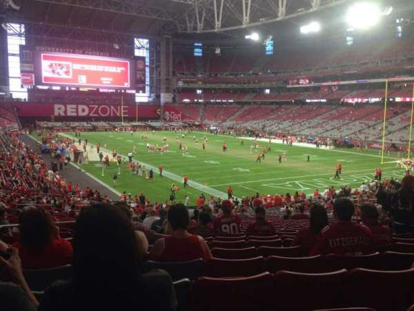 State Farm Stadium, section: 120, row: 37, seat: 13