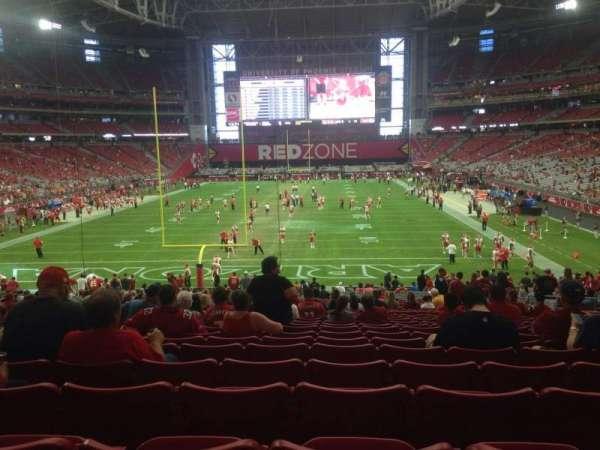 State Farm Stadium, section: 118, row: 36, seat: 11