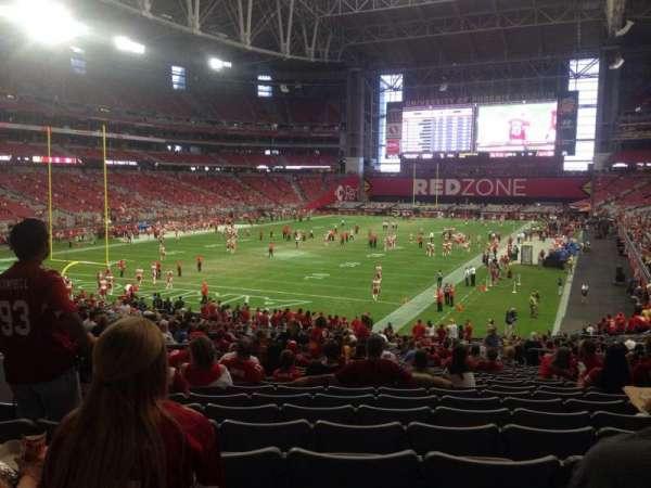 State Farm Stadium, section: 116, row: 36, seat: 10