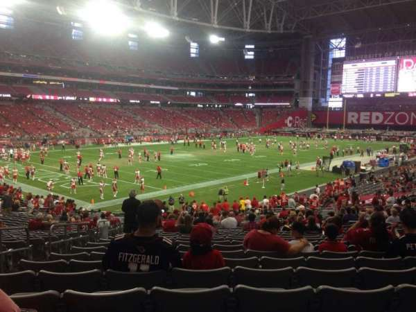 State Farm Stadium, section: 114, row: 31, seat: 27