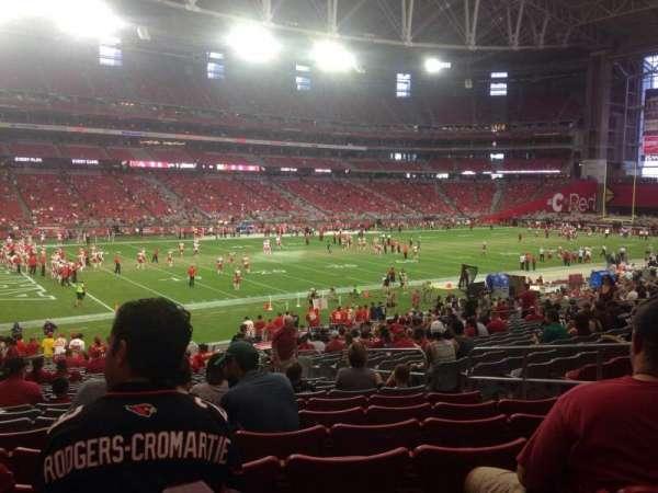State Farm Stadium, section: 113, row: 31, seat: 30