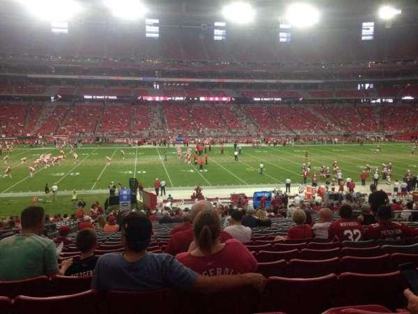 State Farm Stadium, section: 110, row: 32, seat: 14