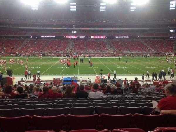 State Farm Stadium, section: 109, row: 26, seat: 7