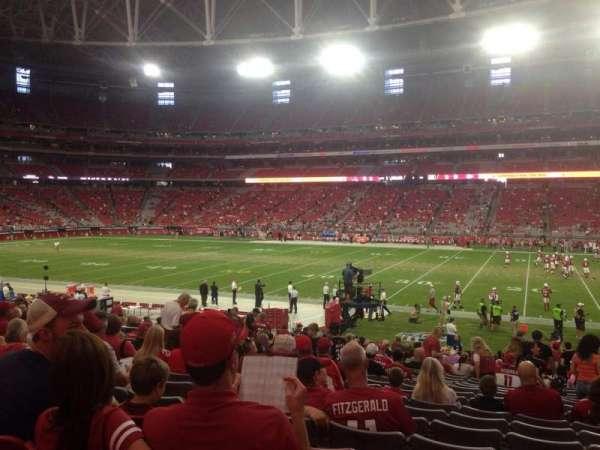 State Farm Stadium, section: 106, row: 24, seat: 3