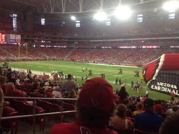 State Farm Stadium, section: 103, row: 29, seat: 28