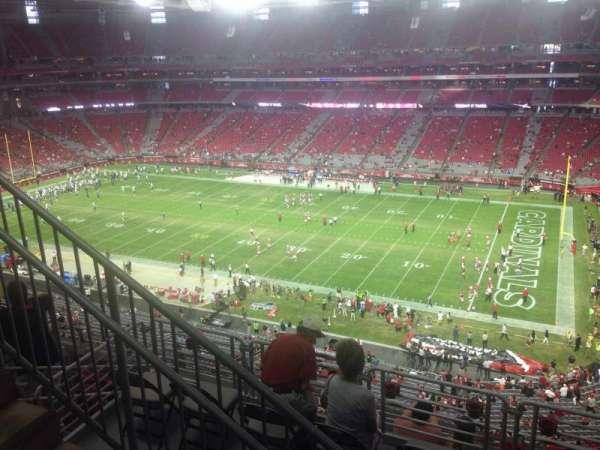 State Farm Stadium, section: 407, row: 1, seat: 8